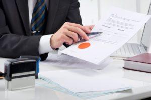 งานบริการด้านสัญญาและจดทะเบียนต่างๆ